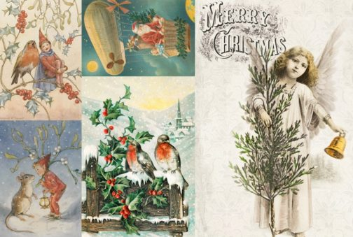Christmas Decoupage Paper for Crafts